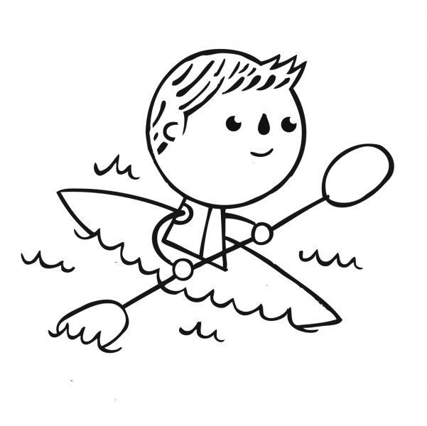 Paddling Downstream Logo